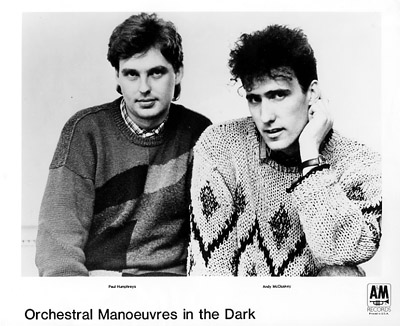 Orchestral Manoeuvres in the DarkPromo Print