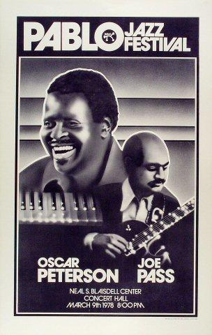 Oscar Peterson Poster