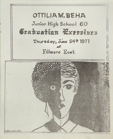 Ottilia M. Beha Junior High School Graduation Exercises Program