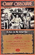 Ozzy Osbourne Handbill