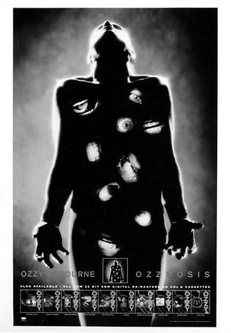 Ozzy OsbournePromo Print