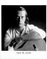 Paco de Lucia Promo Print