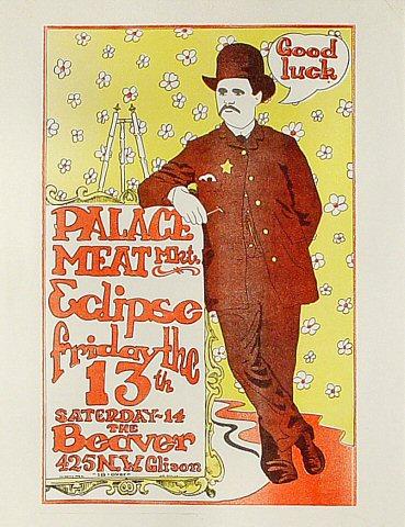 Palace Meat Market Handbill