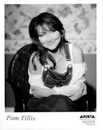 Pam Tillis Promo Print