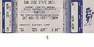 Pantera 1990s Ticket