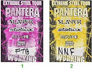 Pantera Backstage Pass
