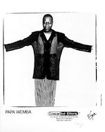 Papa Wemba Promo Print