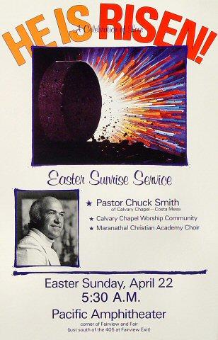 Pastor Chuck Smith Poster