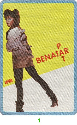 Pat Benatar Backstage Pass