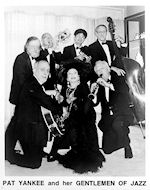 Pat Yankee and Her Gentlemen of Jazz Promo Print
