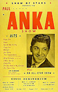 Paul Anka Poster