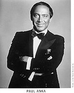 Paul Anka Promo Print