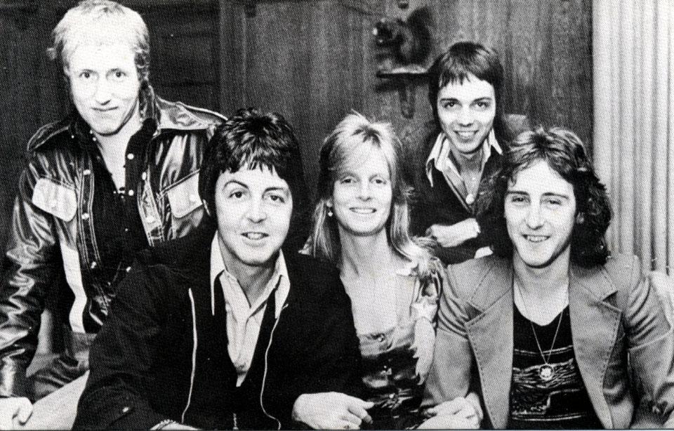 Paul McCartney & Wings Postcard