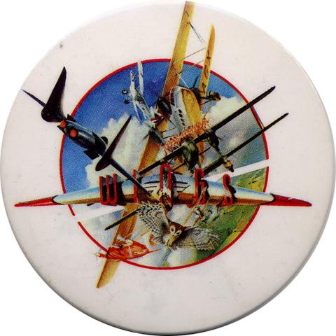 Paul McCartney & WingsVintage Pin