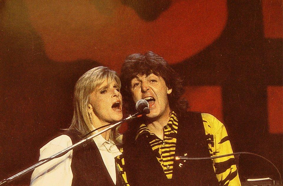 Paul McCartney Postcard
