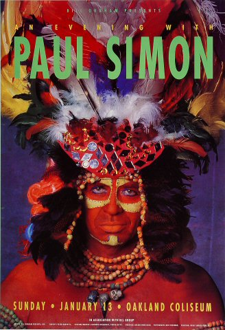 Paul Simon Poster