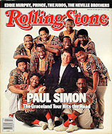 The Neville Brothers Rolling Stone Magazine