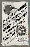 Country Joe McDonald Handbill