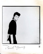 Paul Young Promo Print