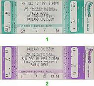 Paula Abdul 1990s Ticket