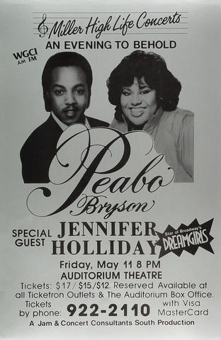 Peabo Bryson Poster