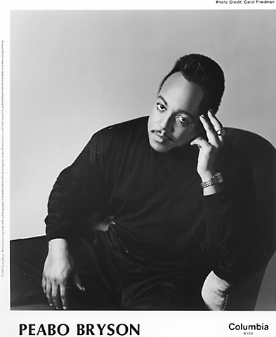 Peabo BrysonPromo Print