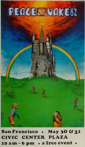 Peace Quake '82 Poster