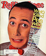 Pee Wee Herman Rolling Stone Magazine