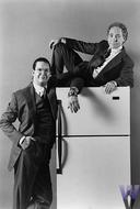 Penn and Teller Vintage Print