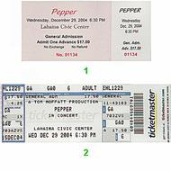 Pepper Post 2000 Ticket