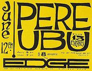 Pere Ubu Handbill