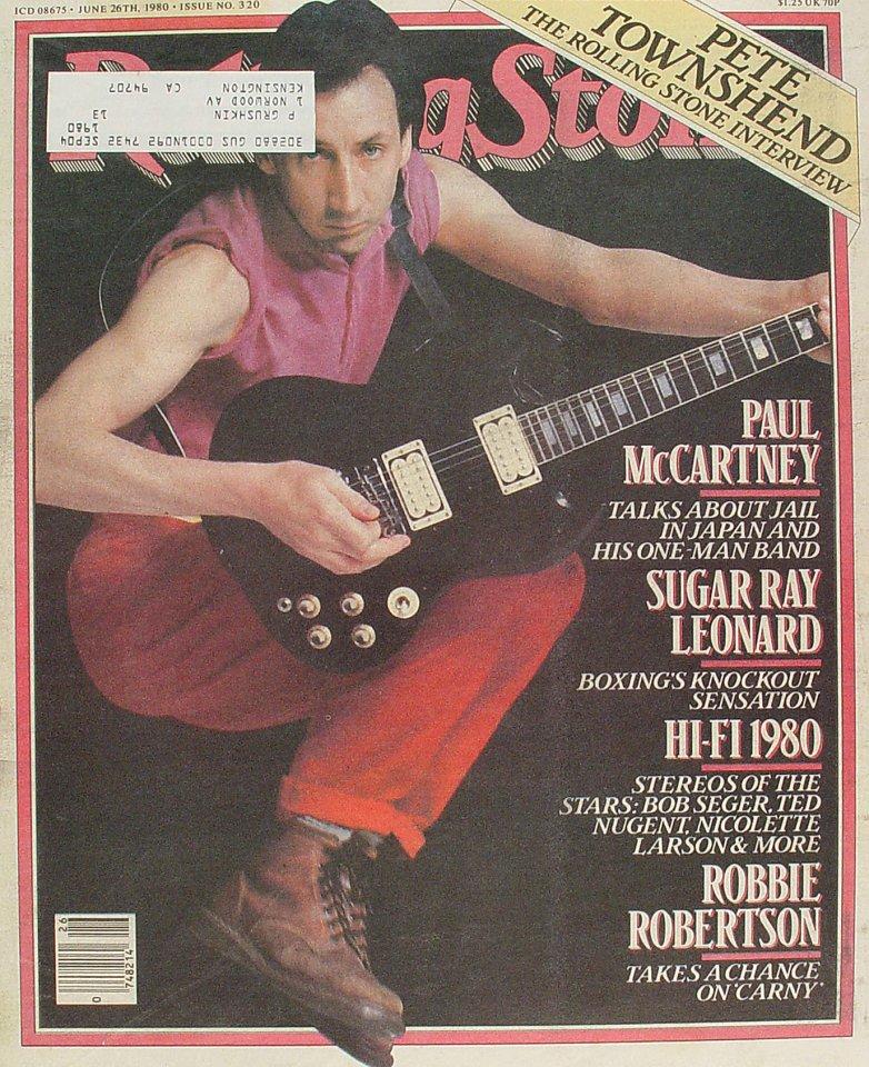 Pete TownshendRolling Stone Magazine
