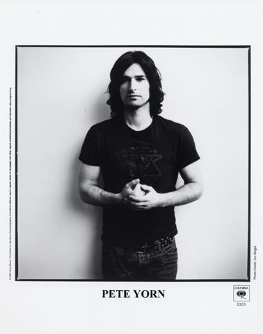 Pete YornPromo Print