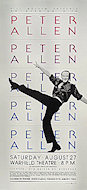 Peter Allen Poster