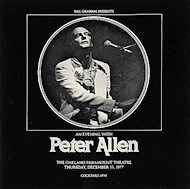 Peter Allen Program