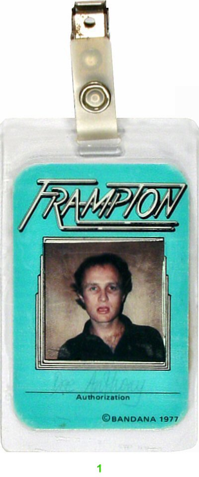 Peter Frampton Laminate