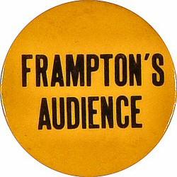 Peter FramptonVintage Pin