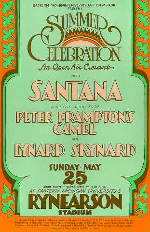 Peter Frampton's Camel Poster