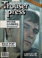 Iggy Pop Trouser Press Magazine