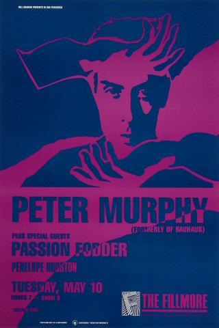 Peter Murphy Poster