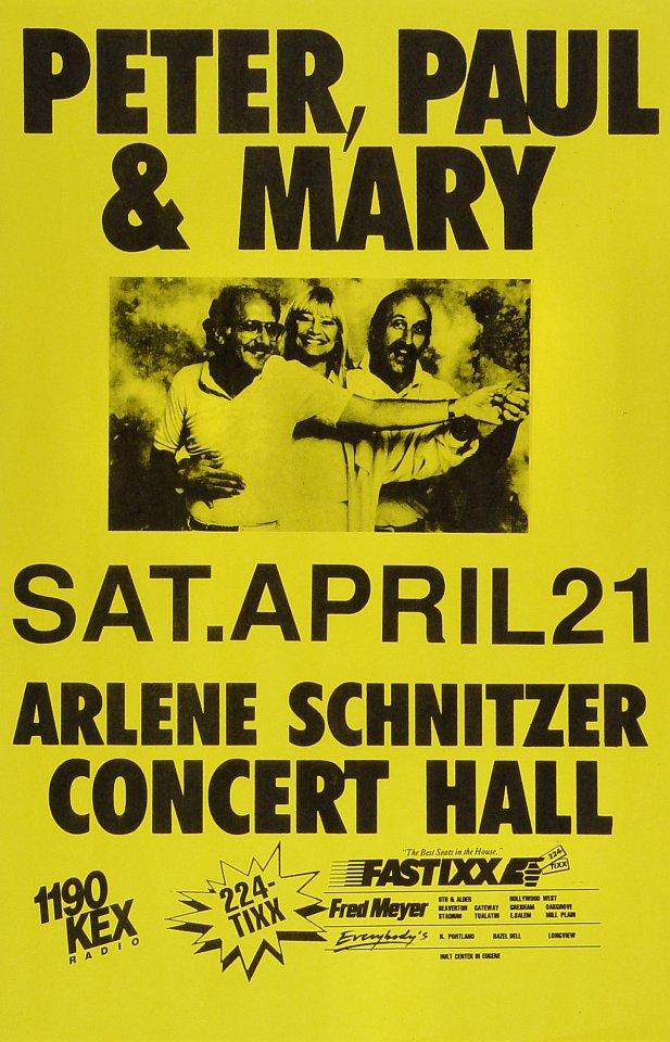 Peter, Paul & MaryPoster