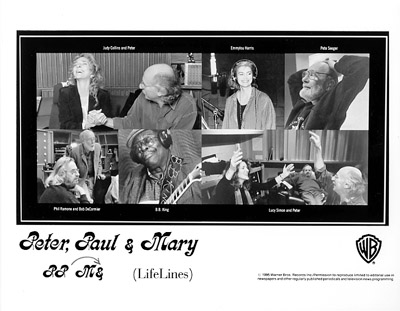 Peter, Paul &amp; MaryPromo Print