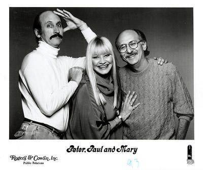 Peter, Paul & MaryPromo Print
