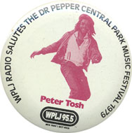 Peter Tosh Pin