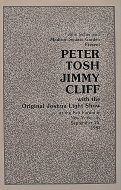 Peter Tosh Program