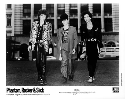 Phantom, Rocker & Slick Promo Print