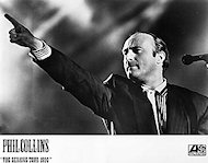 Phil Collins Promo Print