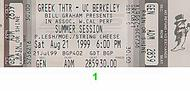 Gov't Mule 1990s Ticket