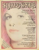 Phoebe Snow Rolling Stone Magazine