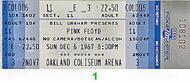 Pink Floyd 1980s Ticket